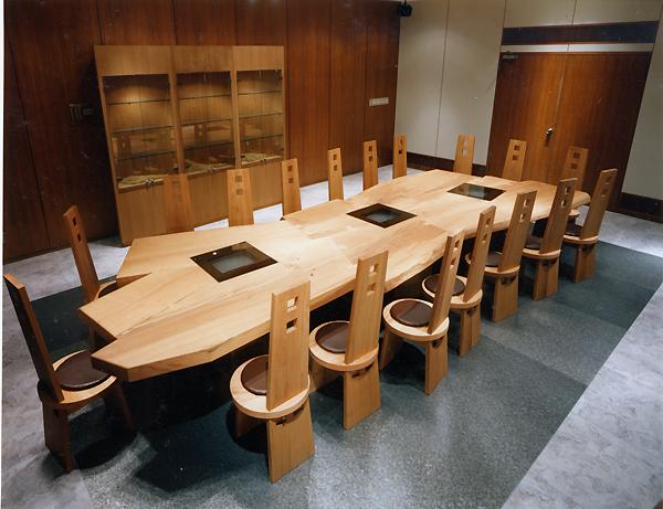 会議室の家具<br>