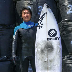 Surfer in Fukushima<br>